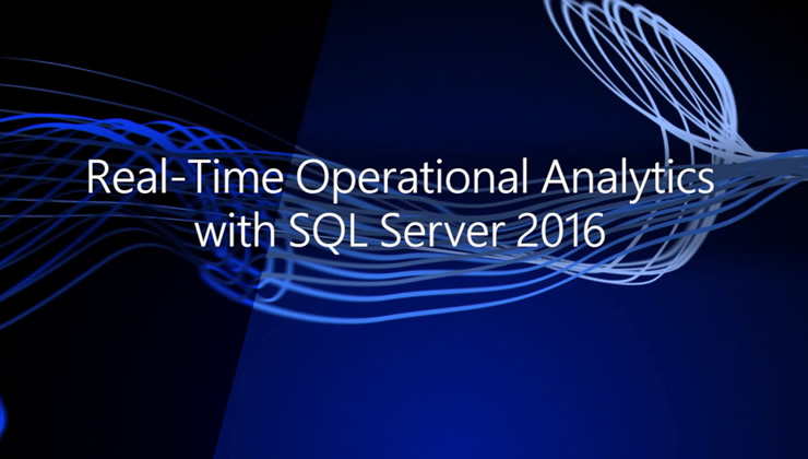 Real-time Operational Analytics in SQL Server 2016 combines two industry leading SQL Server technologies: in-memory OLTP and in-memory analytics using columnstore index. By enabling the creation of columnstore indexes directly on transactional tables, it eliminates the need for a separate data warehouse and data movement to considerably reduce the total cost of ownership. Your transactional workload can continue to run with no or minimal performance impact while colunmstore index can speed up your analytics significantly.