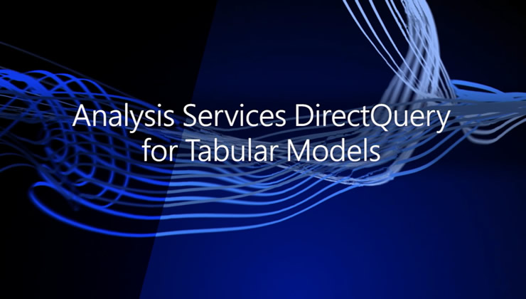 Learn about updates to the SQL Server Analysis Services (SSAS) DirectQuery and build a semantic model over your data for consistency across reporting and analysis without storing any data in Analysis Services itself. The new updates enable direct access to data without storing or caching aggregates in Analysis Services at performance enhancements up to 20 times faster than in previous versions of SSAS.