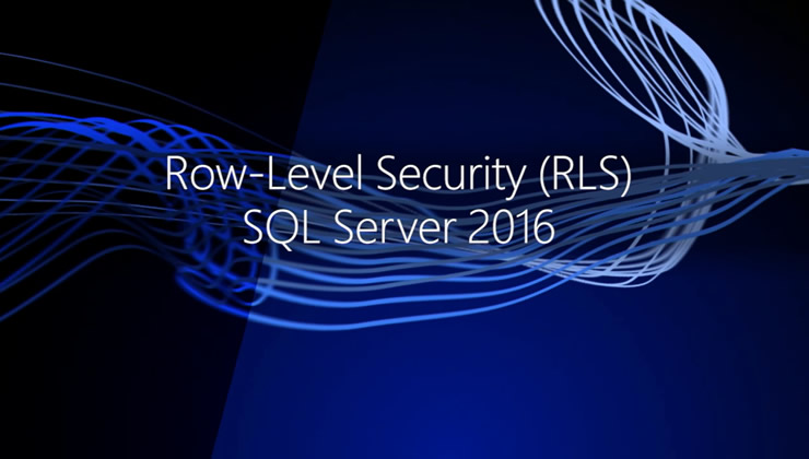 To satisfy compliance standards, internal regulations, or basic security principles, applications often need to limit a user's access to only certain rows of data in a database. Learn how Row-Level Security in SQL Server 2016 helps you maintain a consistent data access policy and reduce the risk of accidental data leakage.
