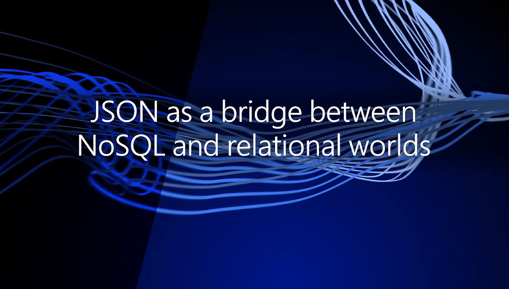 New JSON functions in SQL Server 2016 let you easily load JSON text in tables, query both standard tables and JSON data, or export content of tables as JSON. See how easily you can combine relational and NoSQL concepts in SQL Server 2016.