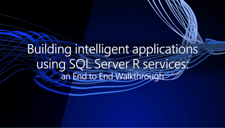 SQL Server R Services is a new feature in SQL Server 2016 allowing you to build predictive applications at scale using the popular open-source R language. Here you'll experience the end-to-end journey starting with exploring the data and ending with deploying the R scripts and models in production. You'll understand the typical personas involved and their roles, and see some code examples.