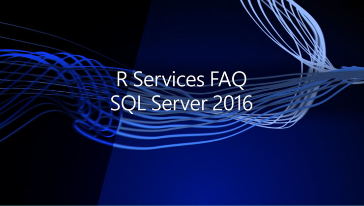 SQL Server R Services is a new feature in SQL Server 2016 allowing you to build predictive applications at scale using the popular open-source R language. Here we'll cover common questions about this new and exciting capability—how does it scale, what's the high level architecture, how is it secured and governed, is it available in all the editions of SQL Server, and more.