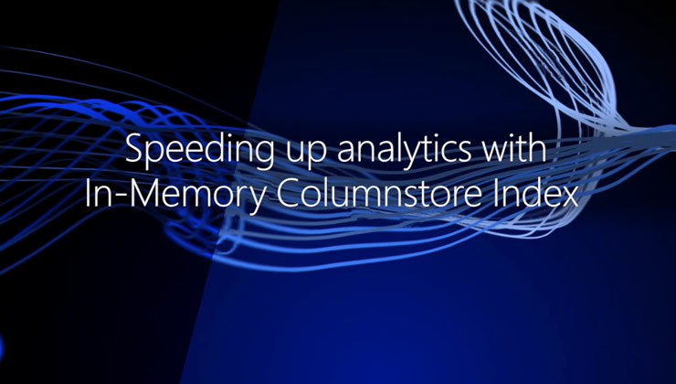 Learn about in-memory analytics using columnstore index. Significantly speed up analytics queries while reducing the storage footprint of your tables with NO changes to your application.