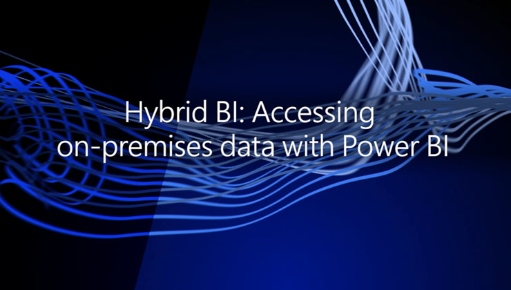 We'll walk through the various ways to keep your reports and dashboards in Power BI current. If you have on-premises data sources such as SQL server that you have been waiting to refresh from Power BI, this is the session for you.