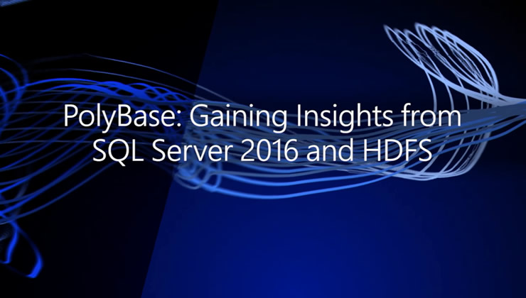 To gain insights from both your Hadoop data and relational data stored in SQL Server, you often need to transform and move data from one environment to the other. Learn how PolyBase lets you query HDFS using T-SQL directly from SQL Server 2016.