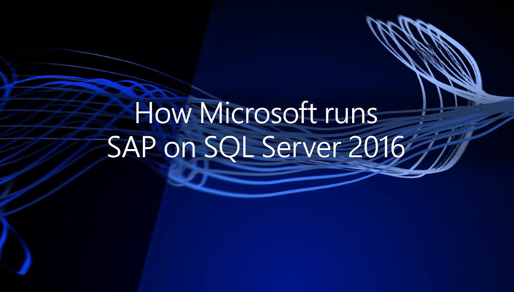 In this session you'll learn about how Microsoft IT, Microsoft Development, and SAP Development teams collaborate to test new SQL Server releases within the Microsoft SAP landscape. You'll also learn how Microsoft IT uses SAP and SQL Server 2016 features today, and highlight different test results conducted confirming the ability of SQL Server to handle mission-critical workloads.