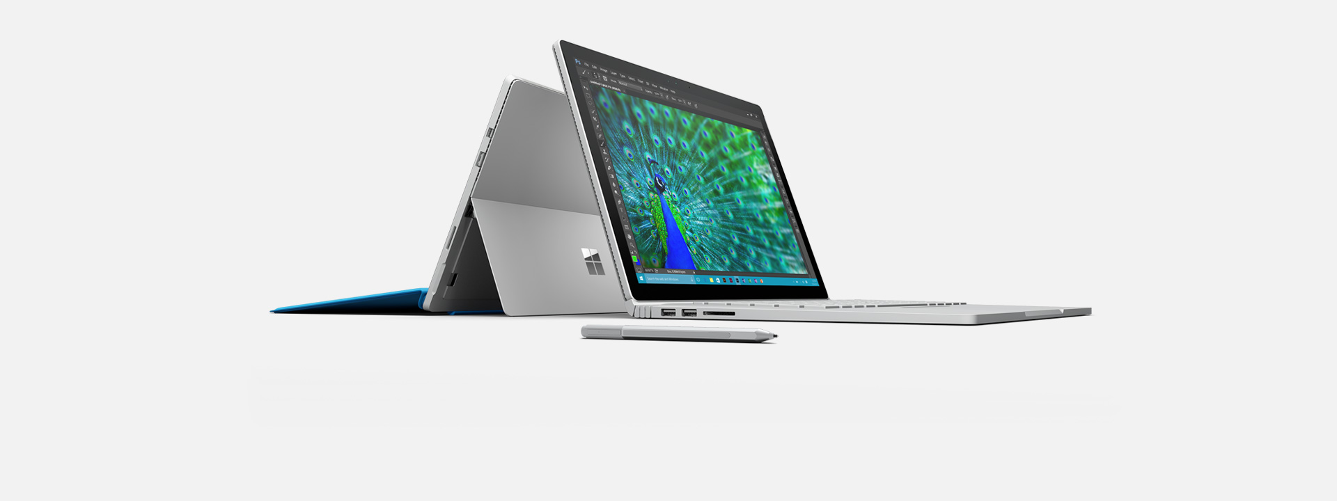 Learn more about Surface Book & Surface Pro 4.