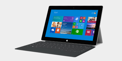Surface 2. Now available with AT&T 4G LTE.