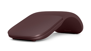 Surface arc mouse Burgundy