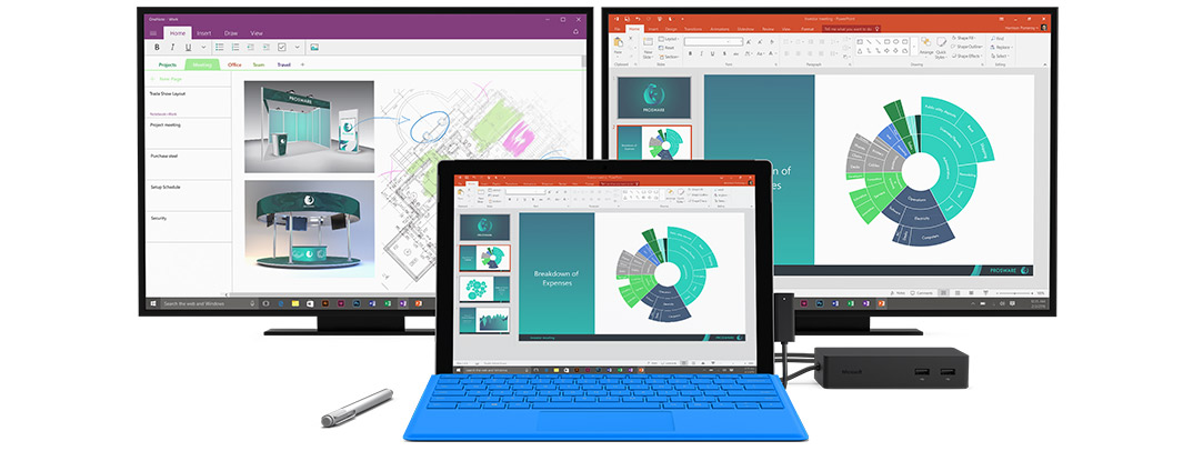 how to connect monitor to surface 3