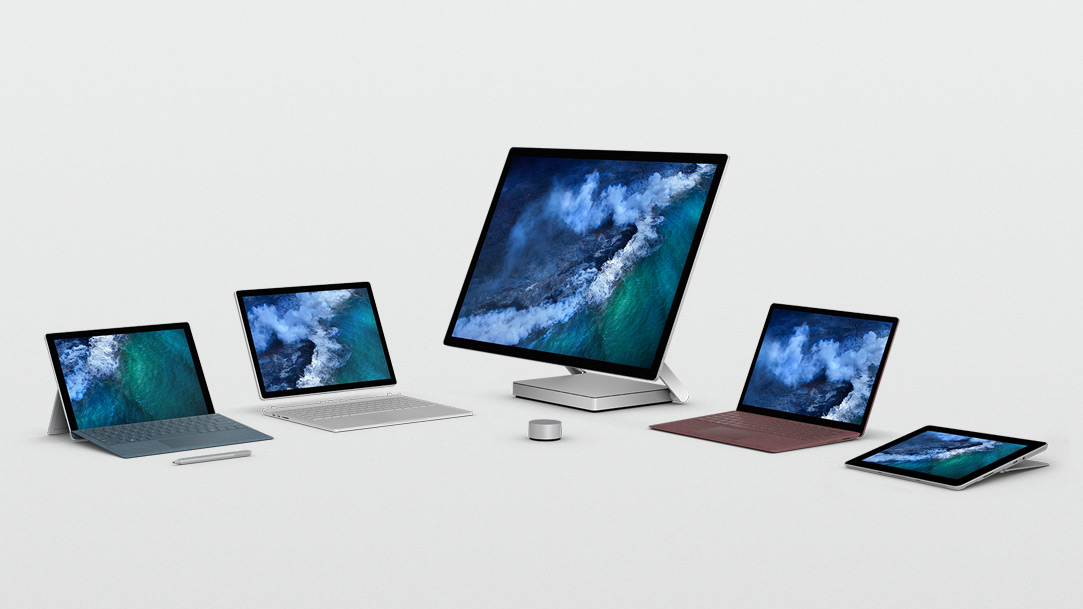 Official Home Of The Microsoft Surface Computers Family
