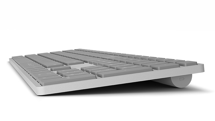 Surface keyboard as seen from the right side