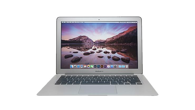 MacBook Pro facing front