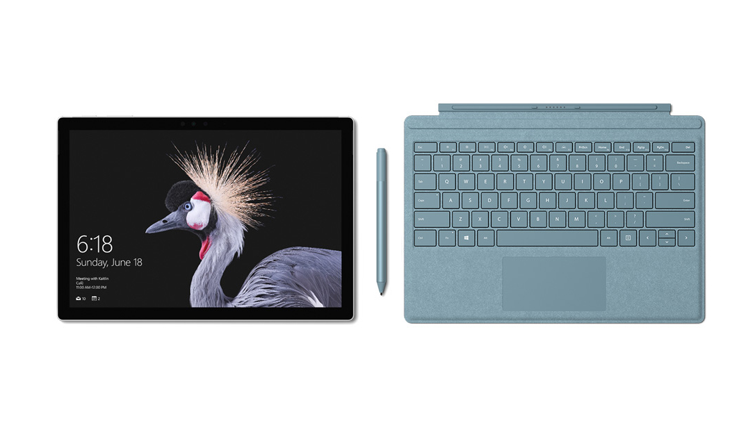 Kết quả hình ảnh cho Surface Pro Signature Type Cover - Aqua (Limited Edition)