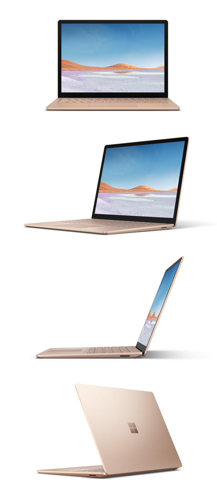 "360 rotation of the Surface Laptop 3 13.5"" (Sandstone)"