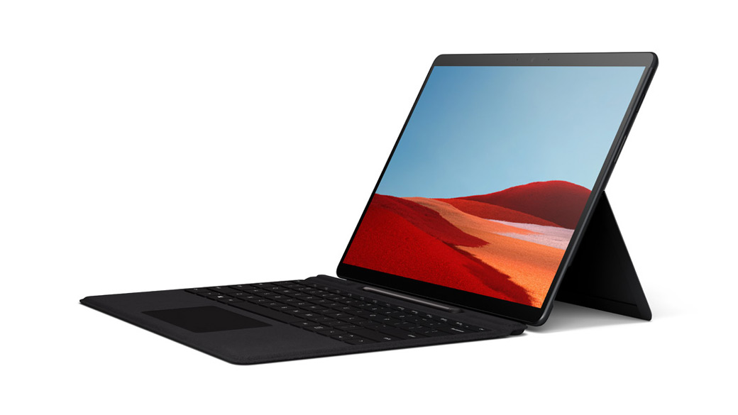 "Surface Pro X with 13"" PixelSense? Display"