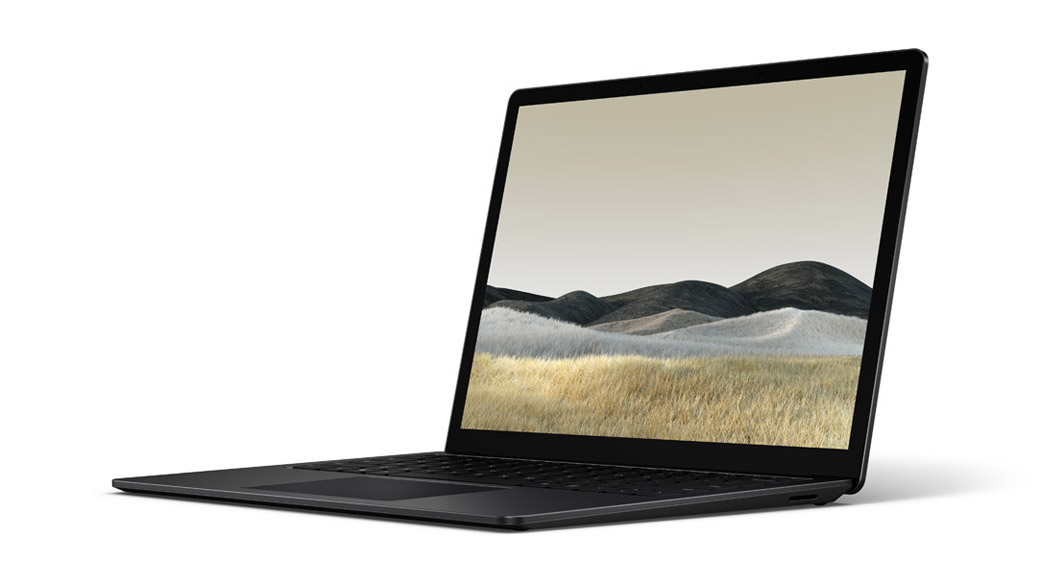 Matte Black Surface Laptop 3 13.5