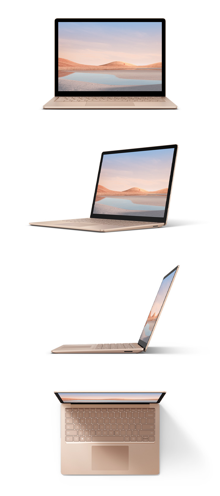 "360 rotation of the Surface Laptop 4 13.5"" (Sandstone)"