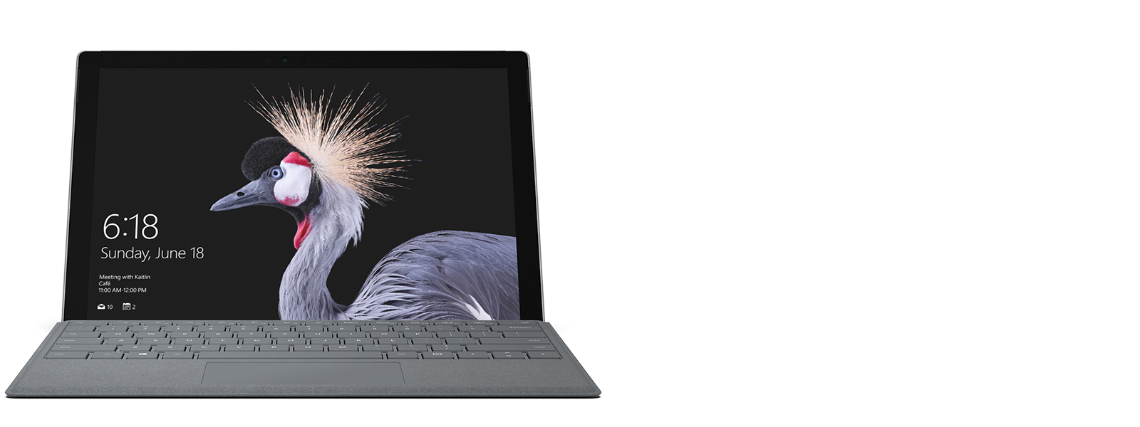 Front view of Surface Pro Computer