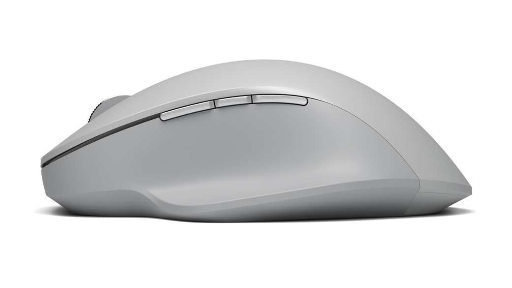 Side view of Surface Precision Mouse