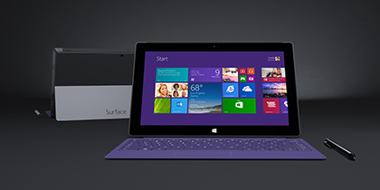 Meet Surface 2 and Surface Pro 2.