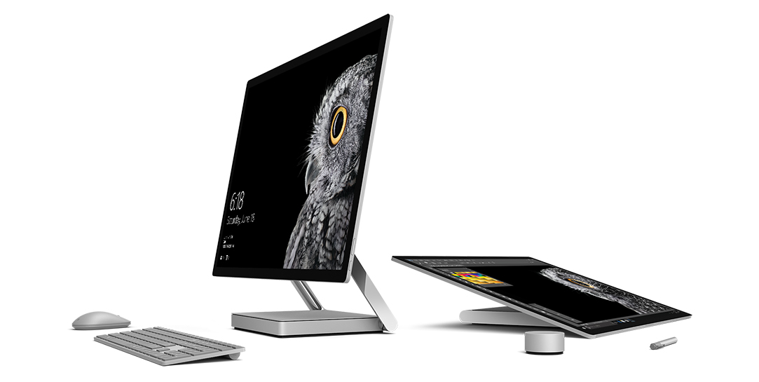 redefining the all in one pc microsoft surface studio. Black Bedroom Furniture Sets. Home Design Ideas