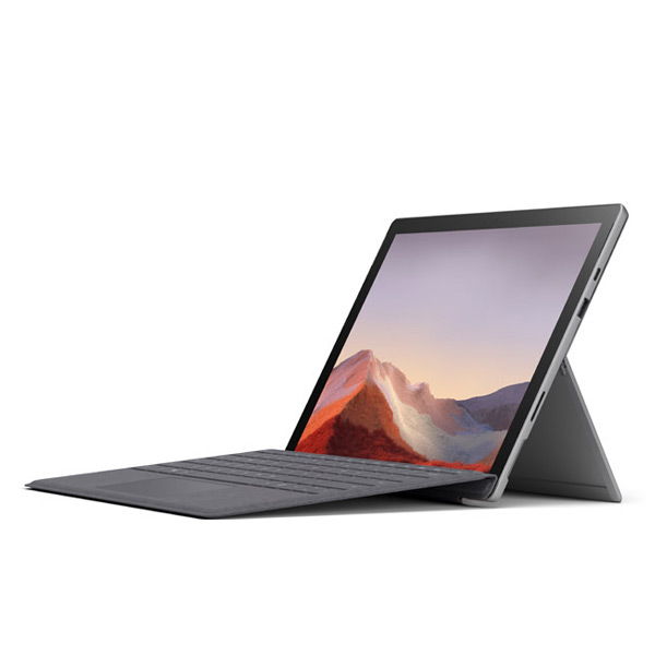 render of Surface Pro 7 with Surface Pro Signature Type Cover