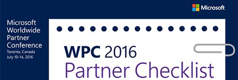 World Partner Conference checklist