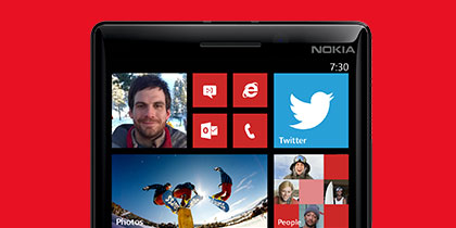 Take epic video with the Nokia Lumia Icon.