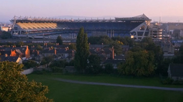 Arial view of Croke Park Stadium