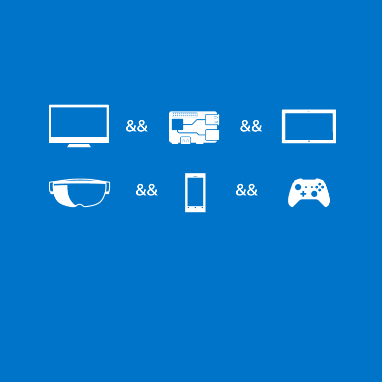 Download the Windows 10 Dev Tools Preview.