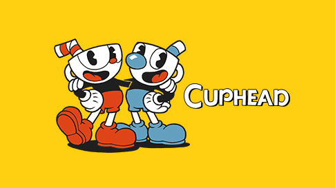 Two Cuphead characters