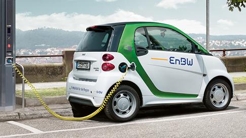 Electronic car charging