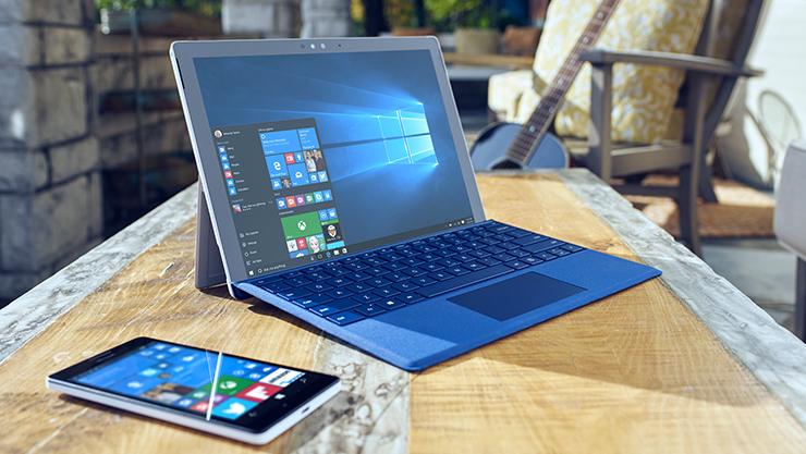 Surface Pro 4 and Lumia 950