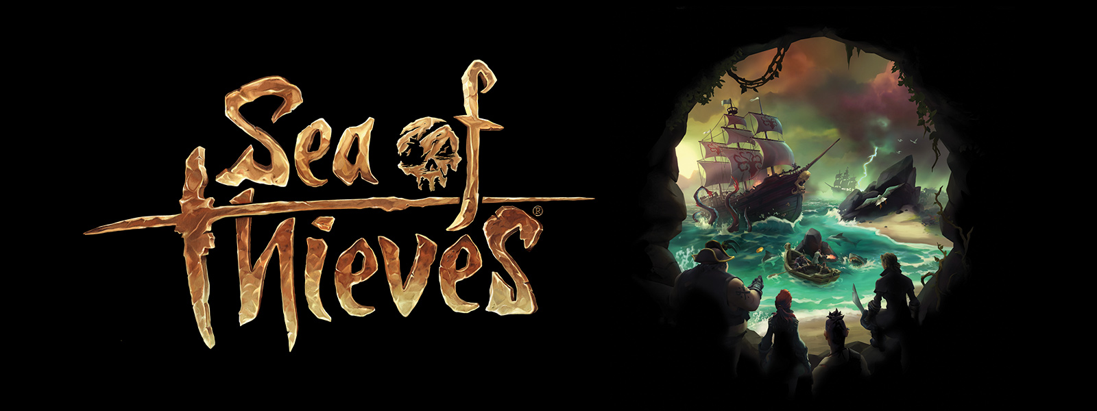 Sea of Thieves title and hero banner