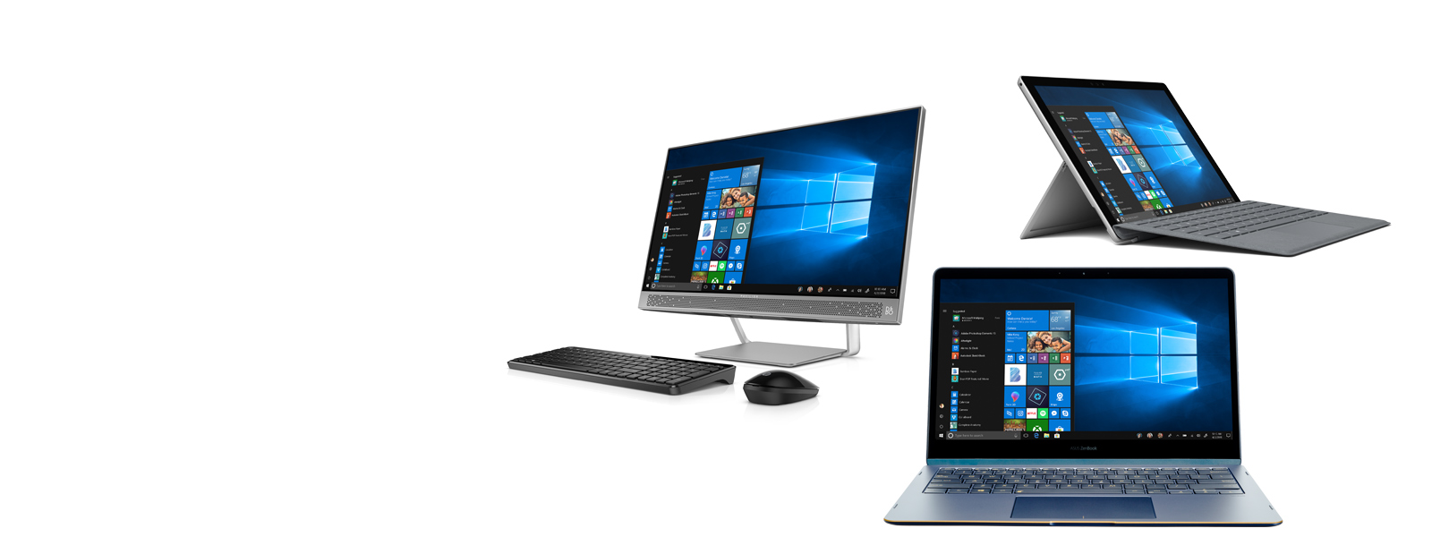 Group image of Windows 10 devices
