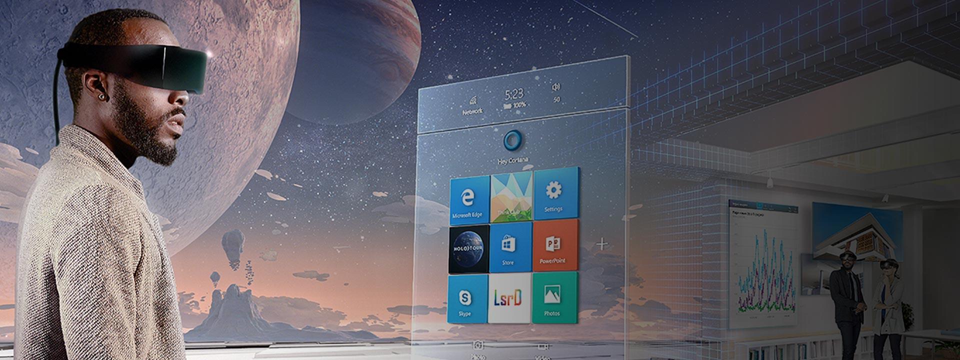 A Surface Book detaches next to a Macbook Pro