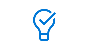 lightbulb with a check mark image