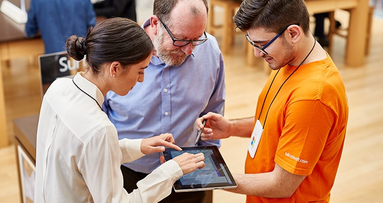 Small Business Month at Microsoft Store