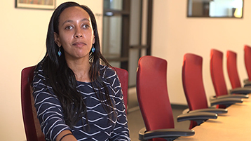 Play Video, Haben Girma, JD, Disability Rights Advocate.