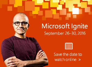 Join us online for Microsoft Ignite