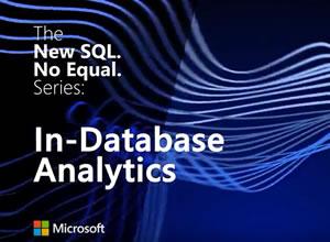 Microsoft SQL Server 2016: In-database analytics