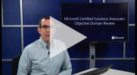Windows Server MCSA Certification Objective Domain Review