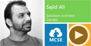 Sajid Ali, Solutions Architect, Canada