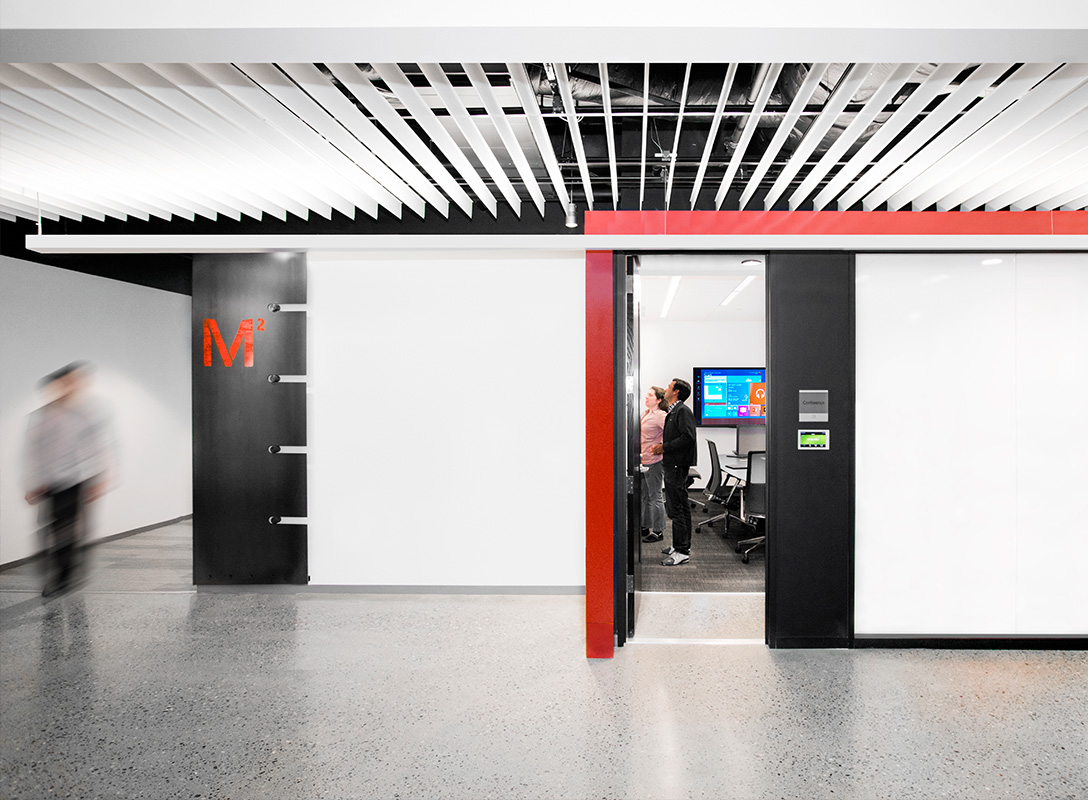 Microsoft Design public space.