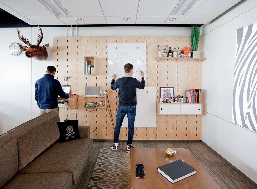 Microsoft Design collaboration space.