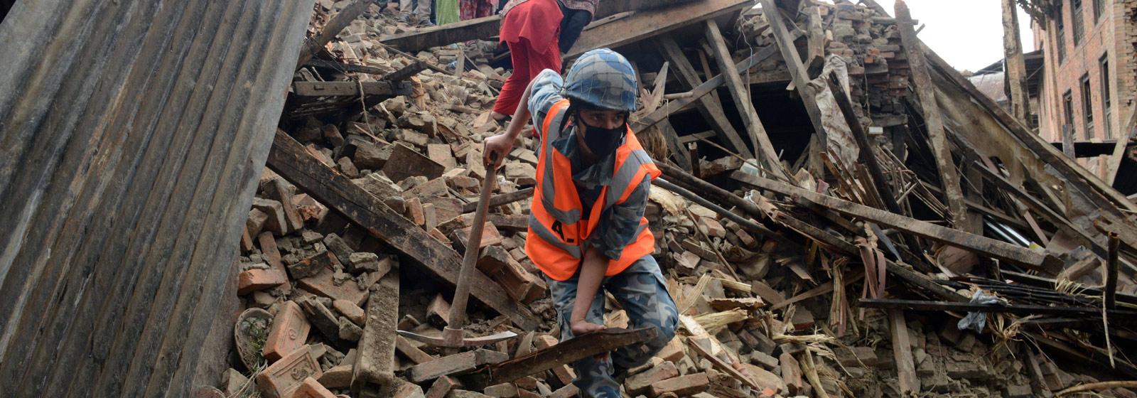 Microsoft Disaster Response – Nepal Earthquake