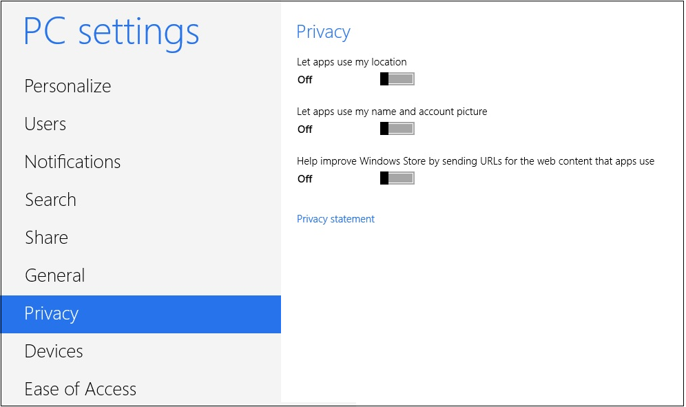 how to open pc settings in windows 7