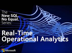 Microsoft SQL Server 2016: Real-time operational analytics