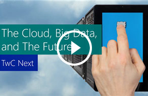 The Cloud, Big Data, and The Future